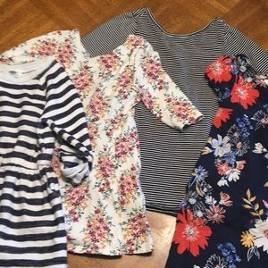 Old Navy Lot Of Girl's Dresses S (6/7)